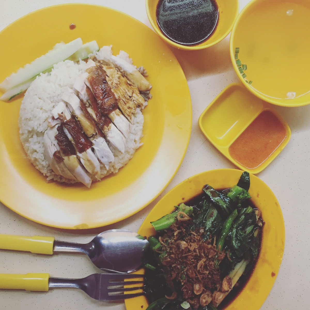 Writes & Bites: Edmond Chicken Rice